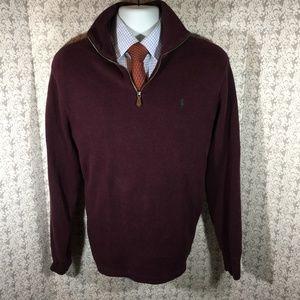 POLO RALPH LAUREN  gently used zip sweater